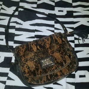 Juicy Couture Animal Leopard Purse Bag Used Once